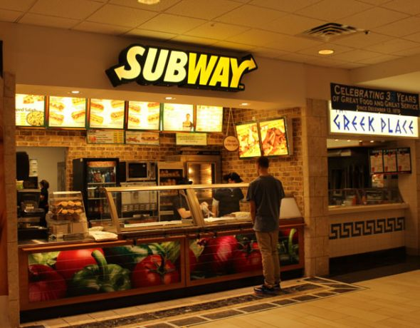 Subway Food Court