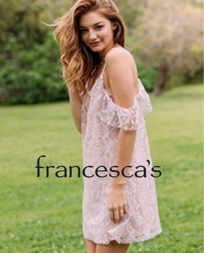 Francesca's Collections Is NOW OPEN!