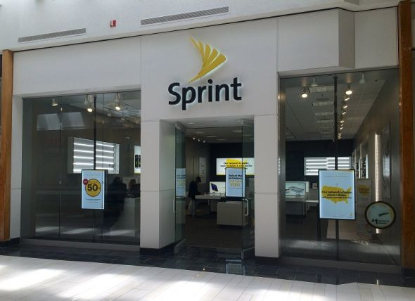 sprint store front