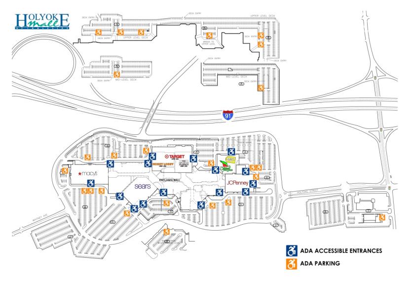Holyoke Mall Map ~ CVLN RP