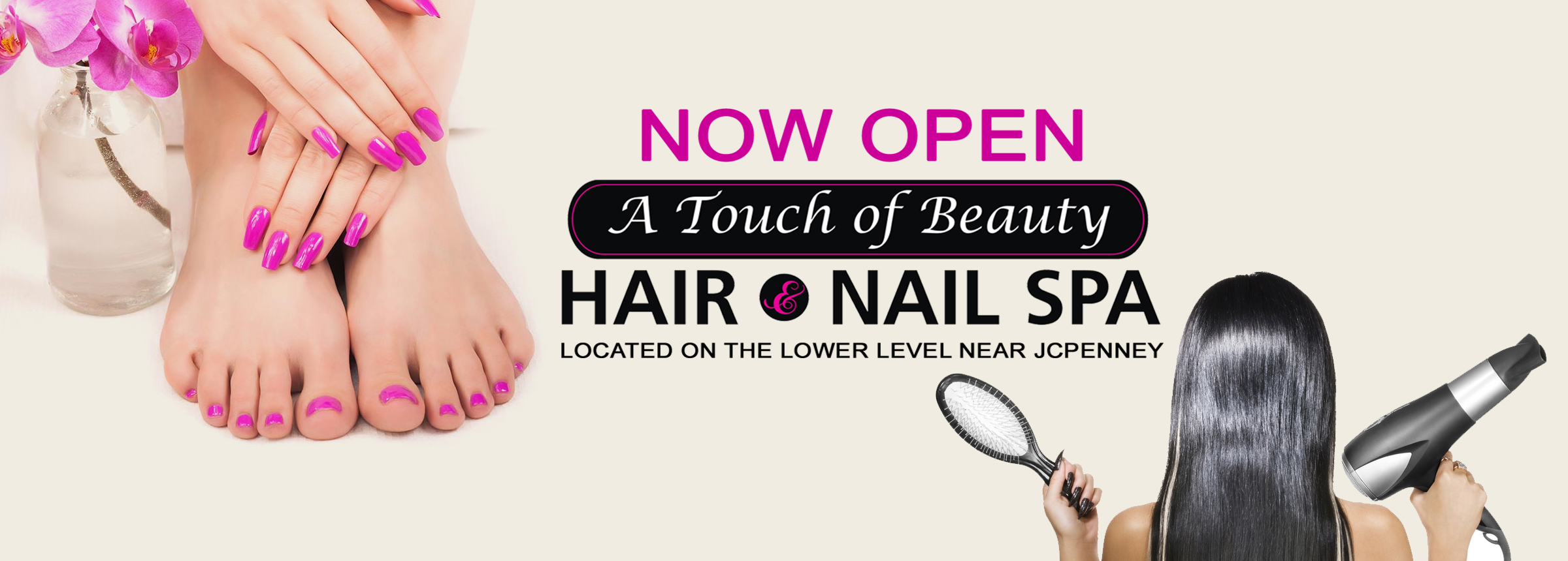 A Touch of Beauty Hair and Nails_ Hero Image