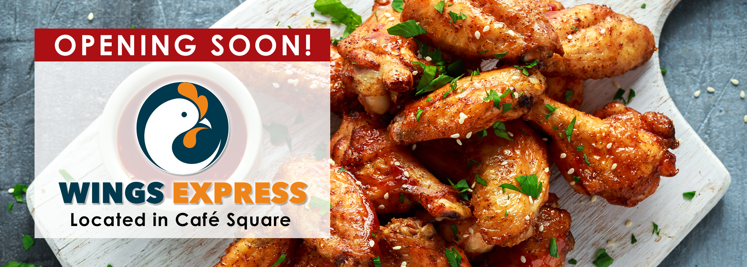 REVISED Wings Express Opening Soon Website Hero Image