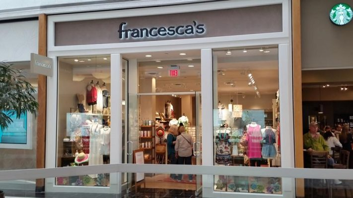 francesca 39 s collections is now open holyoke mall. Black Bedroom Furniture Sets. Home Design Ideas