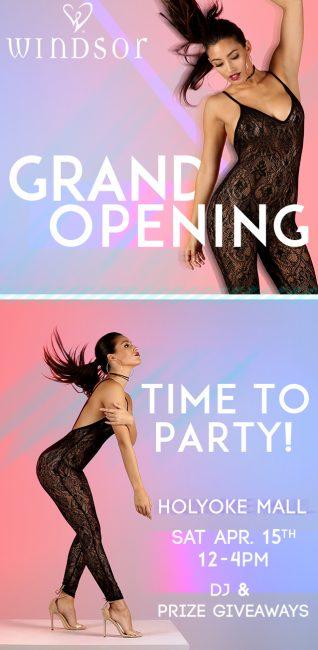 windsor 39 s grand opening event holyoke mall. Black Bedroom Furniture Sets. Home Design Ideas
