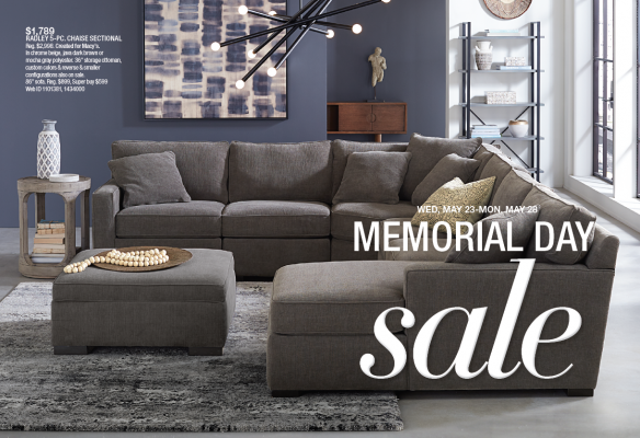 Macy S Furniture Gallery Memorial Day Sale 5 12 18 5 28 18