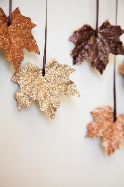 DIY Falling Leaves Garland