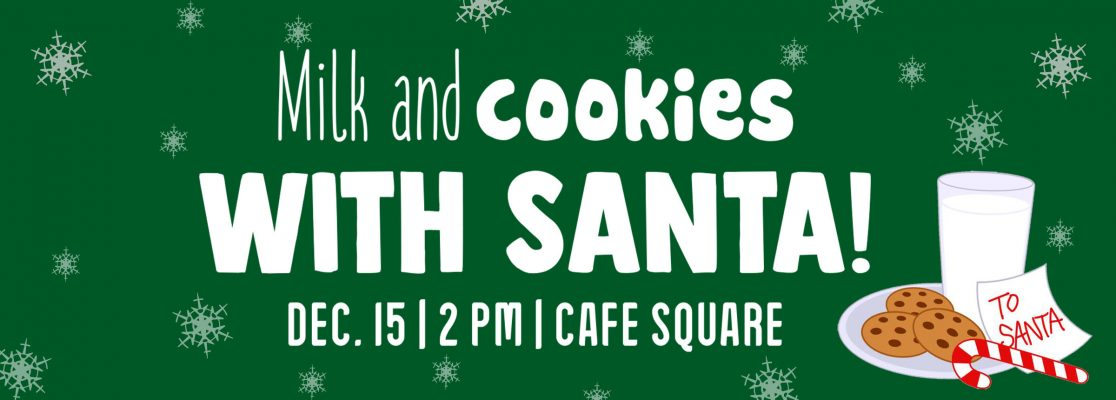 Milk And Cookies With Santa Holyoke Mall
