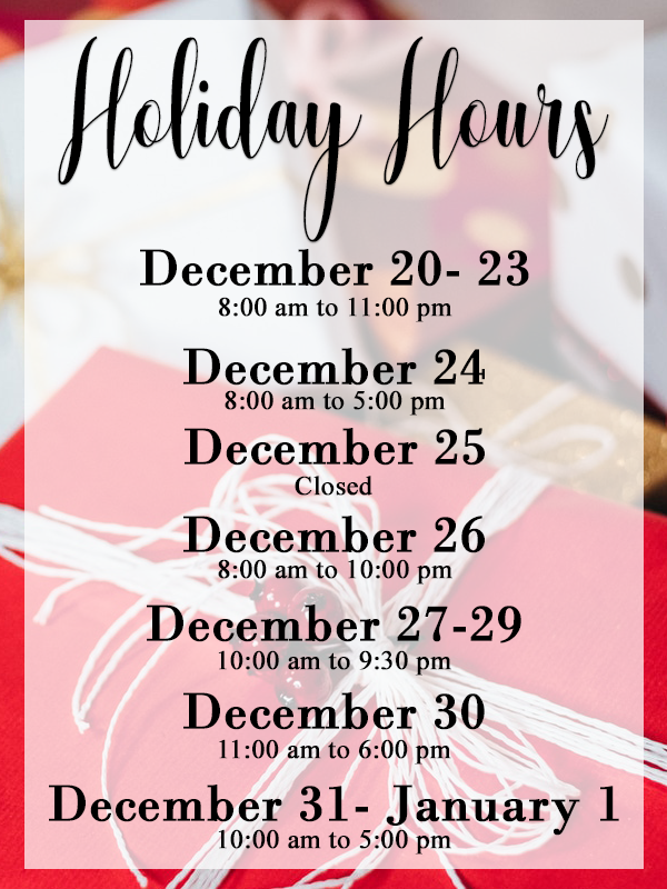 Jcpenney Christmas Hours 2020 Holyoke Mall Holiday Hours   Holyoke Mall
