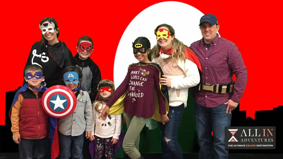 All in Adventure at Holyoke Mall Superhero