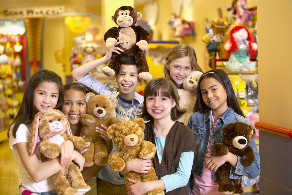 Build A Bear Workshop Group Photo