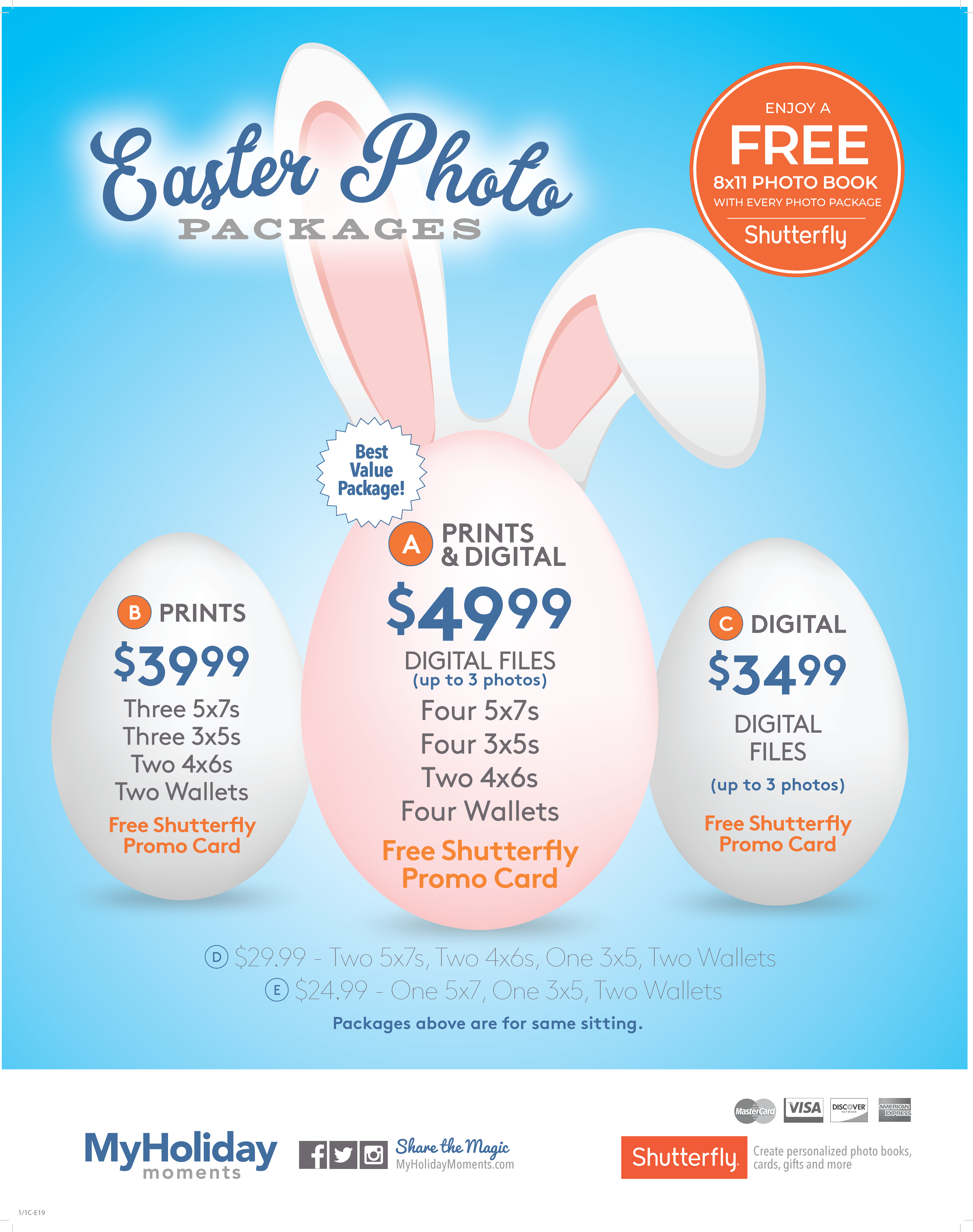 Easter Bunny Pricing