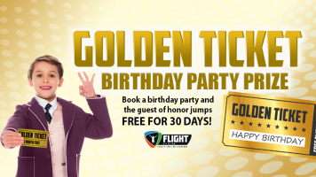 Flight Fit N Fun Golden Ticket