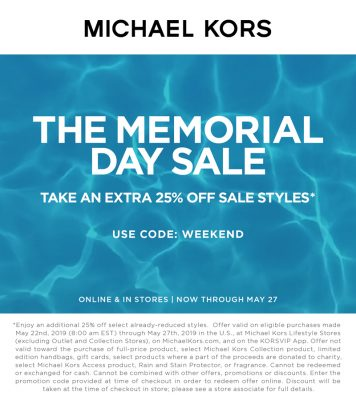 Memorial Day Sale Clienteling Asset V1