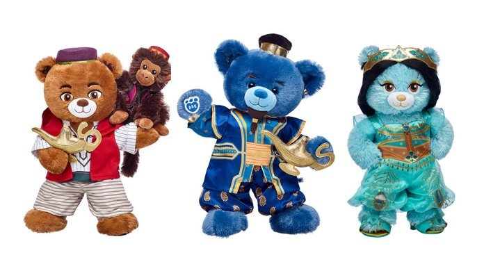 build a bear workshop disney aladdin collection top 1168765