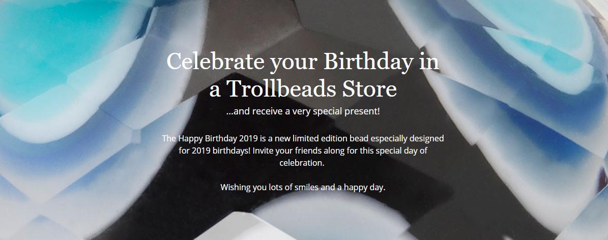 Trollbeads Birthday