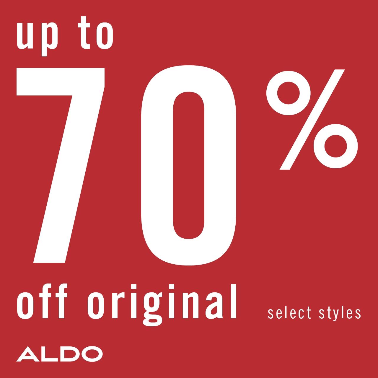 ALDO End of Season Sale Up to 70 off 1280x1280 EN