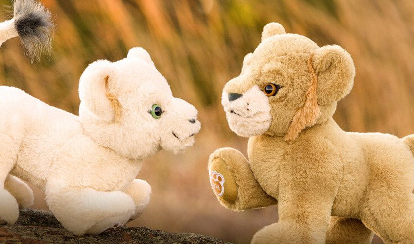 BuildABear LionKing header