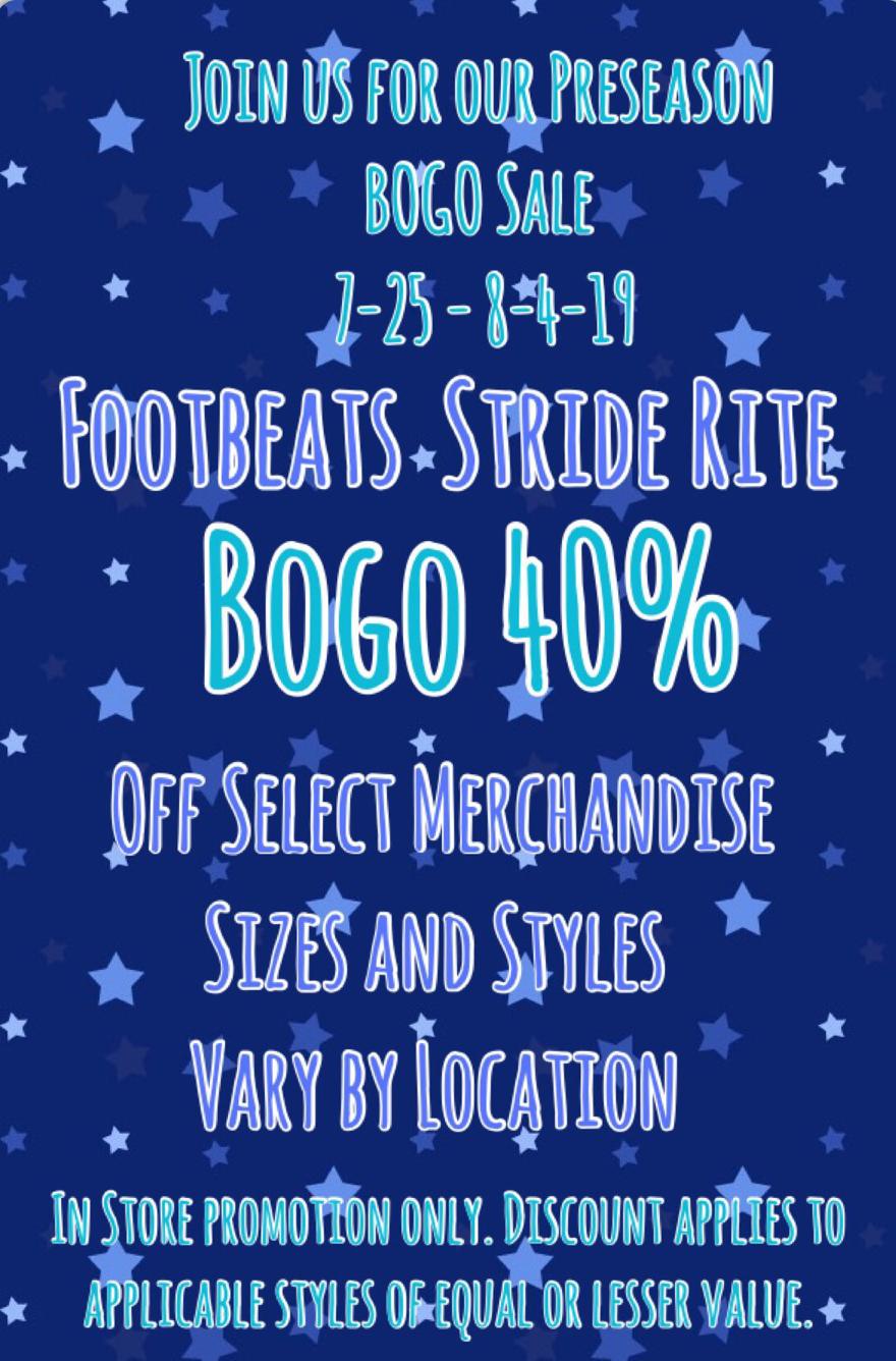 Footbeats Preseason Sale