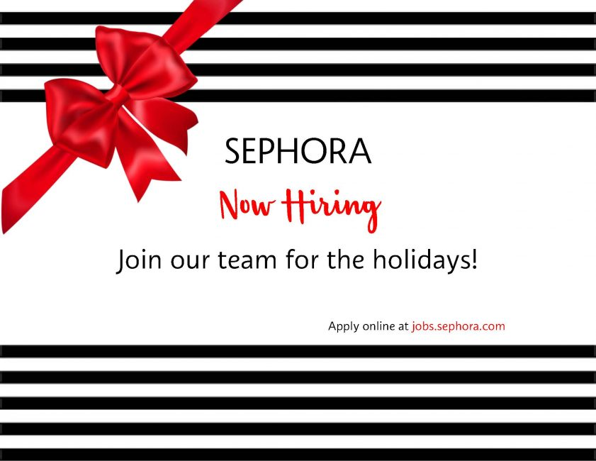 2019 Holiday Now Hiring red bow uneditable 1 1