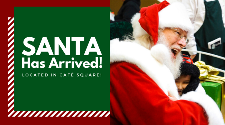 Santa has arrived header