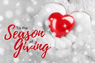 Tis the Season of Giving