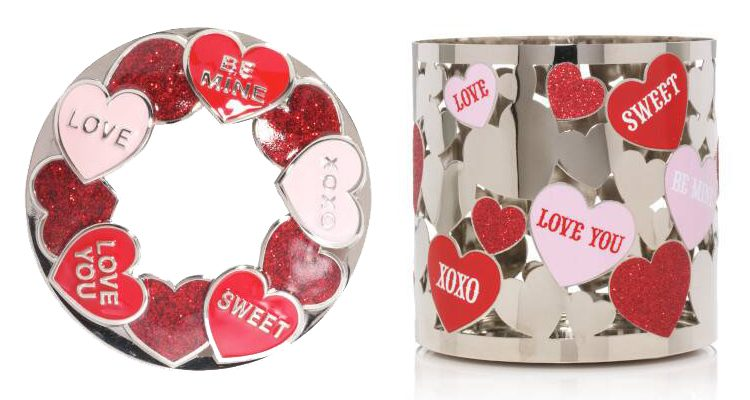 Candy Heart Jar Topper and Jar Holder
