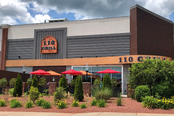 110 Grill Now Open Outdoor Seating