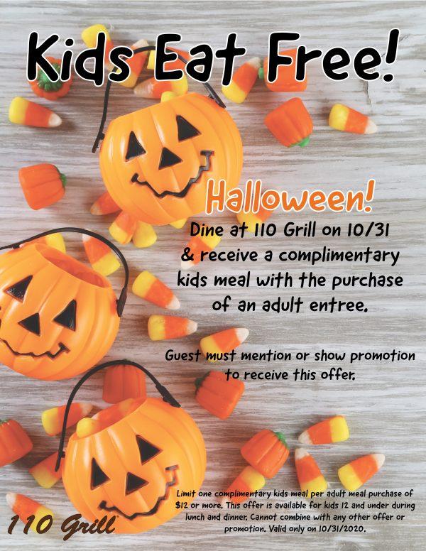 Kids Eat Free Halloween