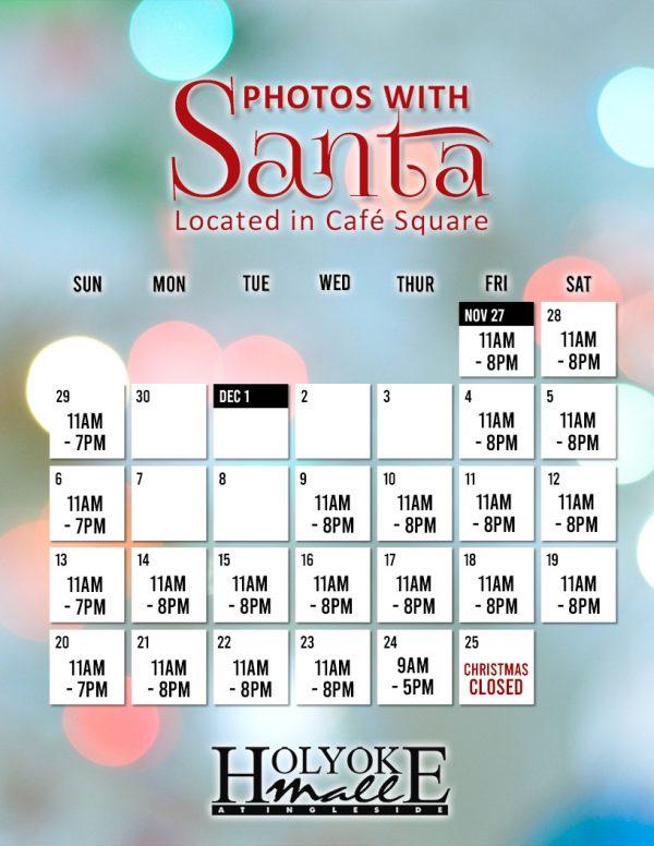 Santa Hours