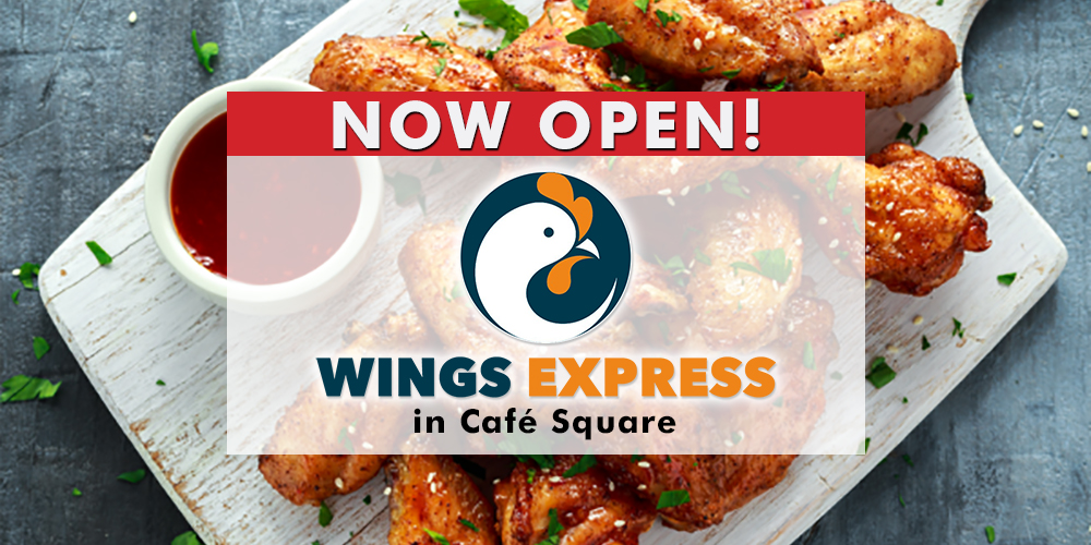 Wings Express Now Open Web Banner Ad