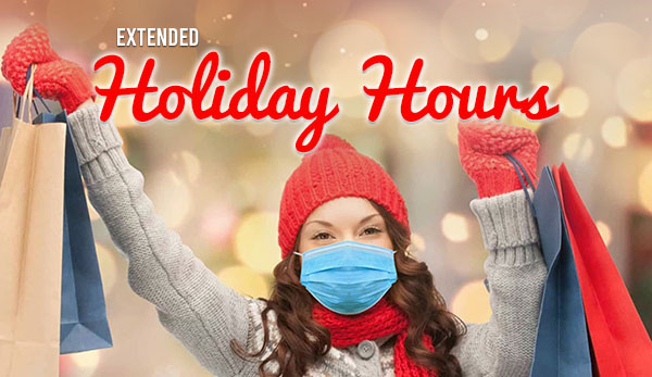 Holiday Hours Blog Header