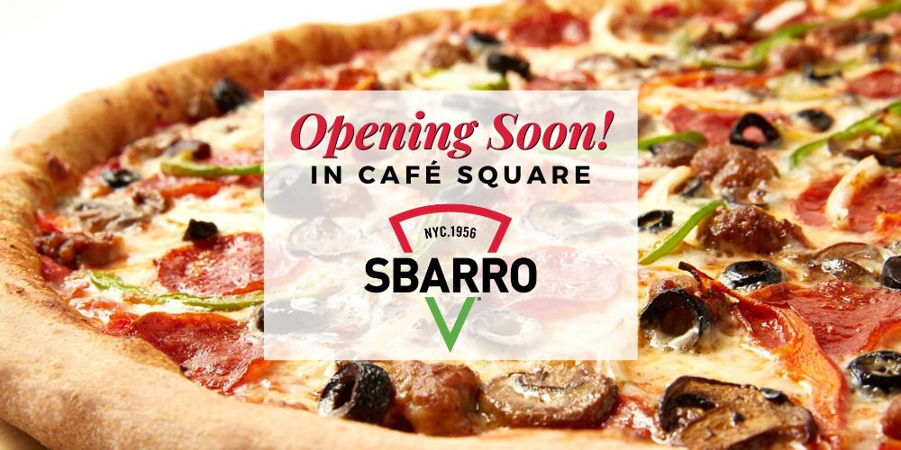 Opening Soon Website Banner Ad Sbarro