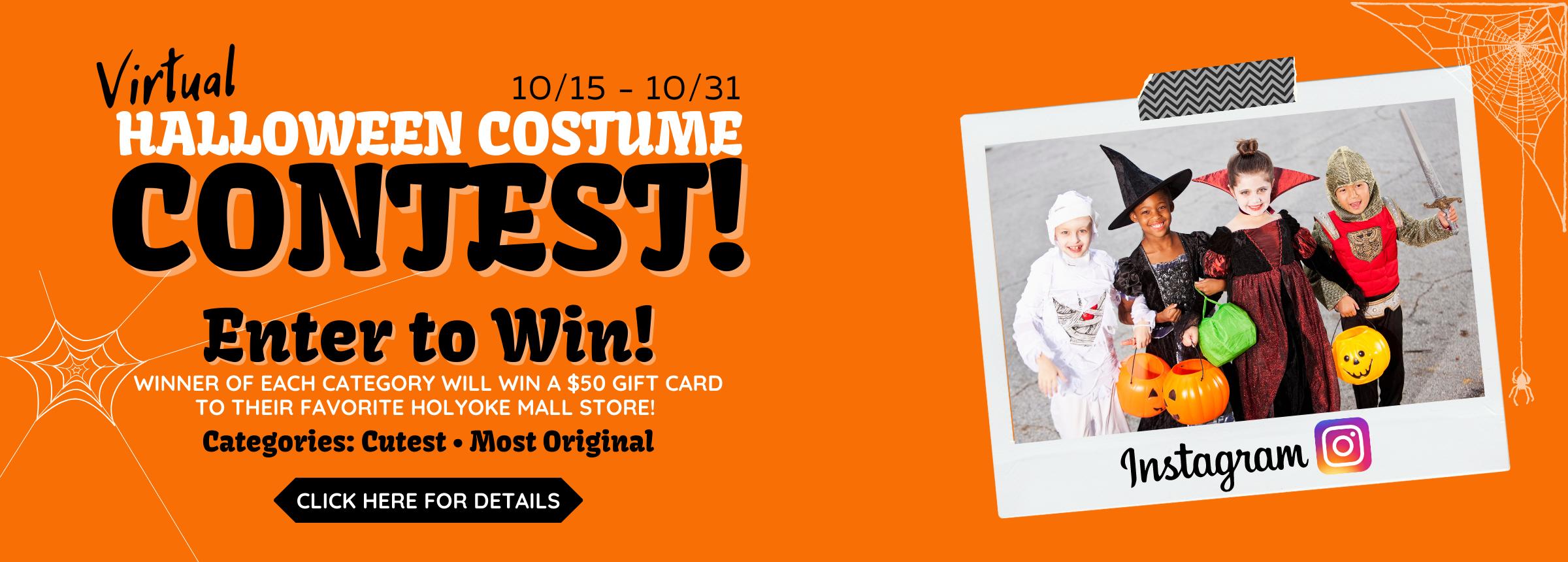 Halloween Costume Contest Hero Image
